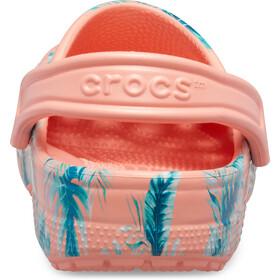 Crocs Classic Seasonal Graphic Clogs melon/tropical